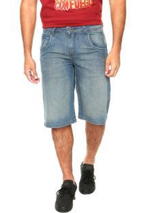Bermuda Jeans Volcom Nova Azul