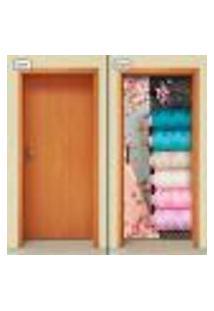 Adesivo Decorativo De Porta - Costura - 1616Cnpt