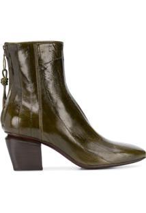 Officine Creative Ankle Boot Vinciene - Verde