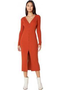 Vestido Amaro Tricot Cardigan Feminino - Feminino