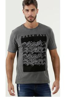 Camiseta Masculina Estampa Frontal Manga Curta Mr
