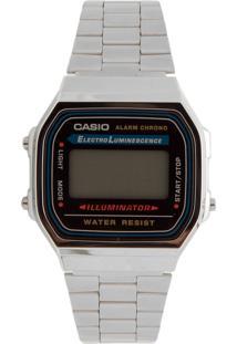 Relógio Casio A168Wa-1Wdf Prata