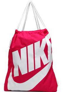 Mochila Saco Nike Sportswear Nk Heritage Gmsk Rosa