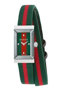 Gucci G-Frame 14X25Mm Watch - Verde