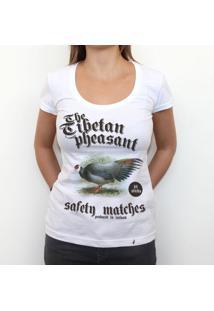 The Tibetan Pheasant - Camiseta Clássica Feminina