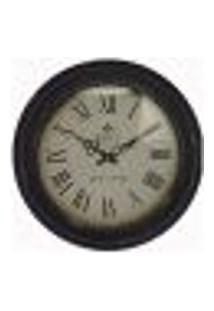 Relógio De Parede France De Ferro Branco