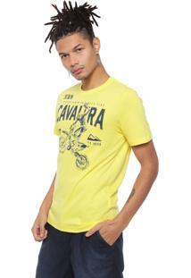 Camiseta Cavalera Rider Amarela