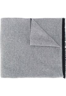 Canada Goose Cachecol De Lã Com Franjas - Cinza