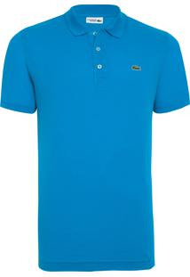 Polo Masculina Sport Tênis Regular Fit - Azul
