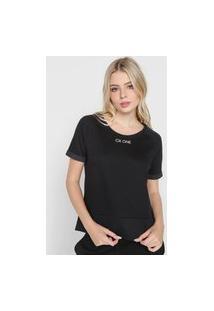 Camiseta Calvin Klein Underwear One Preta