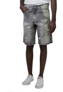 Bermuda Jeans Yck'S Preta