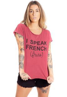 Camiseta De Algodão Estonada Le Julie
