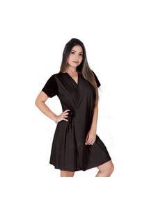 Robe Feminino All Store Harmonia Preto