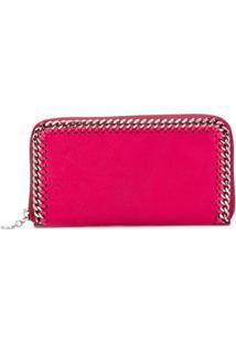 Stella Mccartney Carteira Continental Falabella - Rosa
