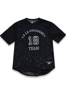 T-Shirt New Era Basico M/C A La Garçonne Preto