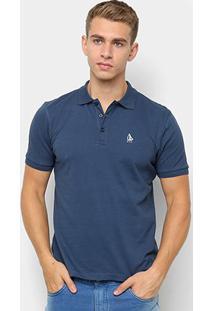 Camisa Polo Nyc - Norwich Yatch Club Básica Masculina - Masculino-Marinho