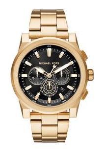Relógio Michael Kors Unissex Essential Grayson Dourado