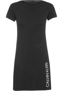 Camisola Malha Calvin Klein Underwear - Preto