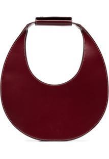 Staud Moon Shoulder Bag - Vermelho