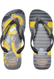 Sandália Havaianas Simpsons Preta