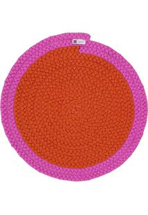 Jogo Americano Orbis Uniborder Orange 3 6 Pecas - 36X36