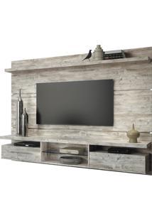 Painel Home Suspenso Livin 220Cm Para Tv Até 60 Pol Hb Móveis