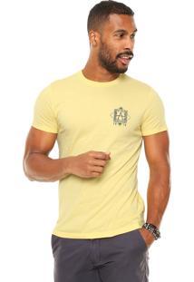 Camiseta Malwee Beach Amarela