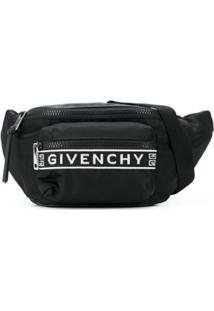Givenchy Pochete Com Recorte De Logo - Preto