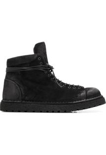 Marsèll Ankle Boot Destroyed - Preto