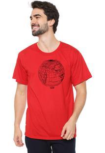 Camiseta Eco Canyon Mundi Vermelho
