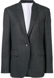Calvin Klein 205W39Nyc Blazer Slim Clássico - Cinza