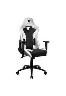 Cadeira Gamer Tc3 Thunderx3, Encosto Reclinável, Braço 2D, 125Kg, Preto/Branco - 72994