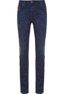 Calça Masculina Thavar Sweat Jeans - Azul