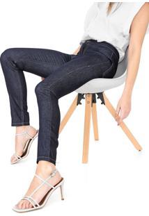 Calça Jeans Carmim Skinny Carol Azul-Marinho
