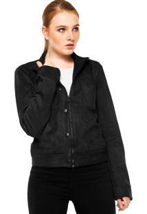 b9e5d80c5 ... Jaqueta Calvin Klein Jeans Recortes Preta