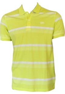 Camiseta Polo Ohai Bech Oceano - Masculino