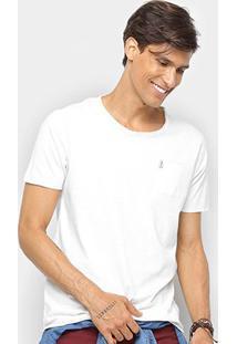 Camiseta Derek Ho C/ Bolso Masculina - Masculino-Off White