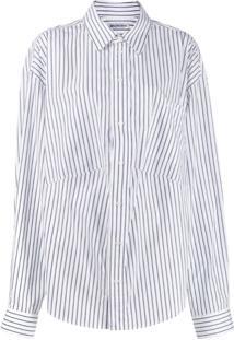 Balenciaga Swing Masculine Shirt - Branco