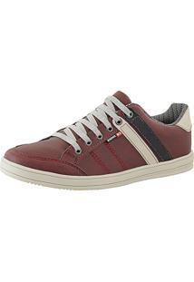 Sapatênis Cr Shoes Leve E Baixo Lançamento Vermelho