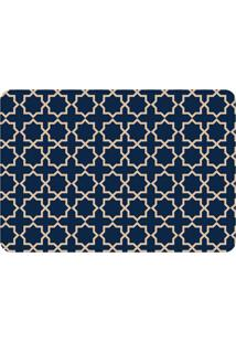 Tapete Love Decor De Sala Wevans Abstract Azul Marinho