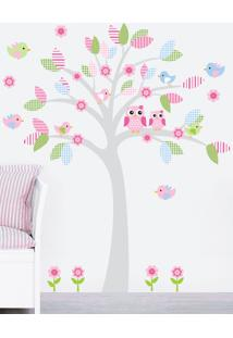 Adesivo Decorativo Stixx Candy Tree Menina Rosa