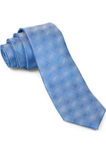 Gravata Tradicional Azul Cloud - Td31