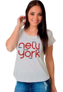 Camiseta Shop225 New York Branco