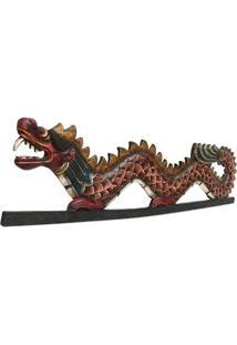 Painel Dragão Decorativo 100Cm - Bali