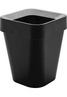 Cesto De Lixo Ou Com Aro Izzy Em Polipropileno – 10 L