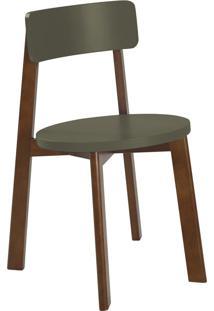 Cadeira Lina 75 Cm 941 Cacau/Cinza - Maxima