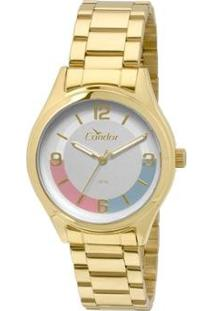 Relógio Condor Feminino Choque De Cores Co2035Kqf/4K - Co2035Kqf/4K - Feminino-Dourado