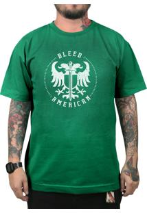Camiseta Bleed American Sword Of Wisdom Bandeira