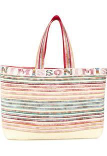 Missoni Large Striped Tote Bag - Neutro