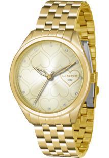 5484f5be1f5 E Clock. Relógio Feminino Dobrável Analógico Tamanho Grande Lince Orient ...